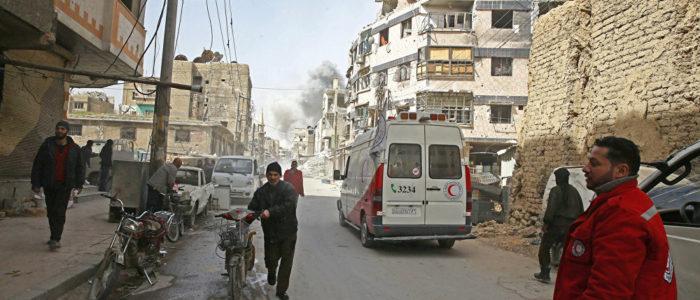نقل أكثر من 38 ألف مسلح مع عائلاتهم من عربين السورية إلى إدلب