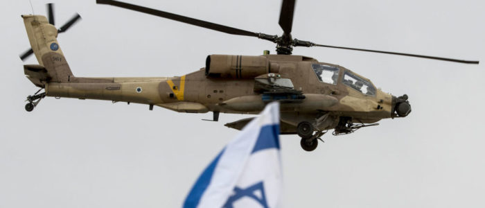 طائرات إسرائيلية تلقي منشورات تحذيرية على سكان قطاع غزة