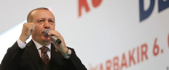 أردوغان يعلن السيطرة على مركز عفرين