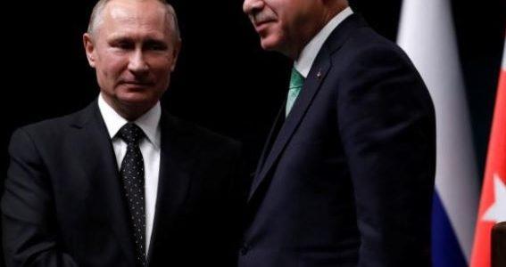 بوتين وإردوغان بحثا قمة ثلاثية بشأن سوريا في اتصال هاتفي