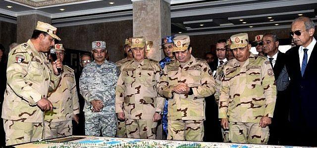 جهود كبيرة للجيش المصري للقضاء علي داعش سريعاً