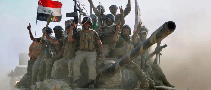 """""""الحشد الشعبي"""" يؤكد إعدام 8 من أفراد الشرطة الاتحادية على يد """"داعش"""""""