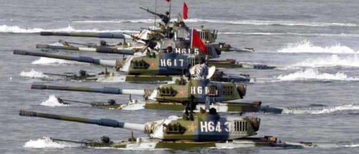 الجيش الصيني يختبر دبابات جديدة بإمكانيات عالية