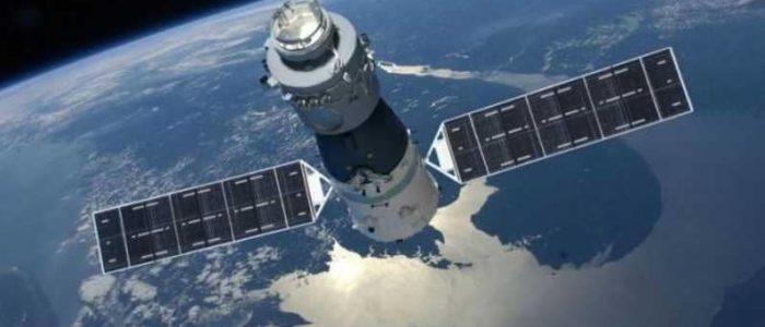 محطة الفضاء الصينية تسقط علي الأرض الليلة
