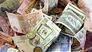 أسعار العملات اليوم الإثنين