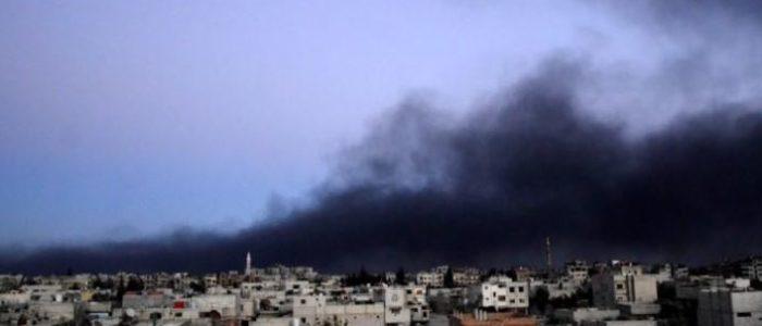 مغادرة أكثر من خمسة آلاف غادروا الغوطة يوم الخميس