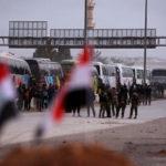 50 حافلة تقل مسلحين من الغوطة الشرقية