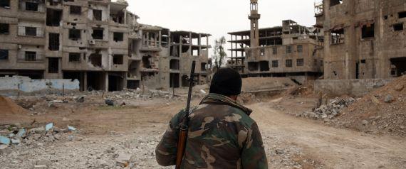 مقاتلو المعارضة سيغادرون جيبا ثانيا في الغوطة
