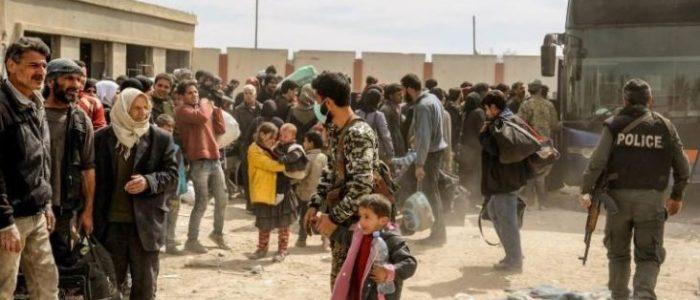 آخر جماعة من المعارضة السورية في الغوطة تتفاوض لوقف حملة الجيش
