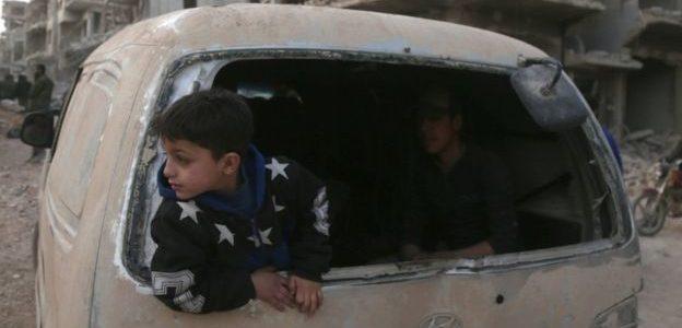 قصف مستشفى في سوريا