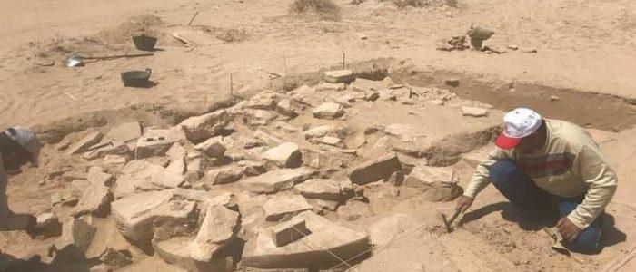 اكتشاف آثار جديدة بمنطقة الخيران الكويتية