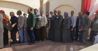 طوابير أمام لجان حدائق القبة في ثاني أيام الإنتخابات الرئاسية