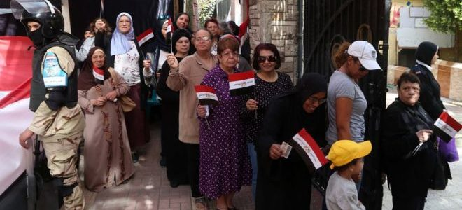 تواصل عمليات التصويت في اليوم الثاني من الانتخابات الرئاسية المصرية