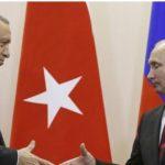 بوتين وأردوغان يناقشان الوضع في الغوطة