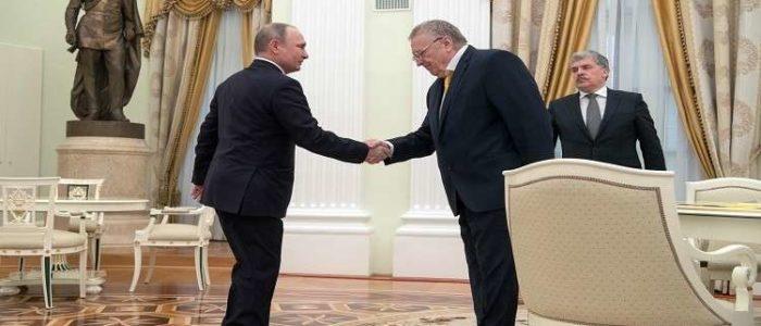 زعيم الحزب الليبرالي: أبلغت بوتين بضرورة إلغاء منصب الرئيس في روسيا