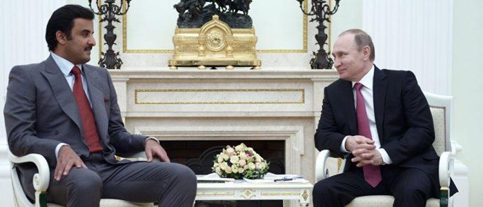 بوتين يلتقي بأمير قطر الأسبوع المقبل