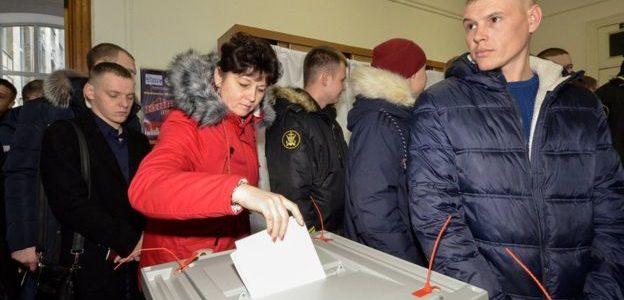 بدء الأنتخابات الرئاسية الروسية