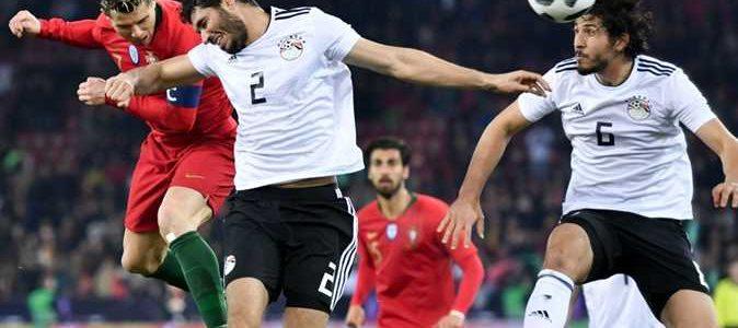 ديلي ميل: رأس كريستيانو قلبت المباراة على الملك المصري صلاح