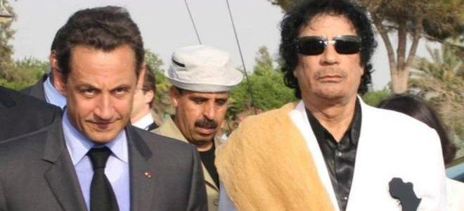 إحالة ساركوزي إلى تحقيق رسمي بشأن مزاعم تلقي أموال من القذافي
