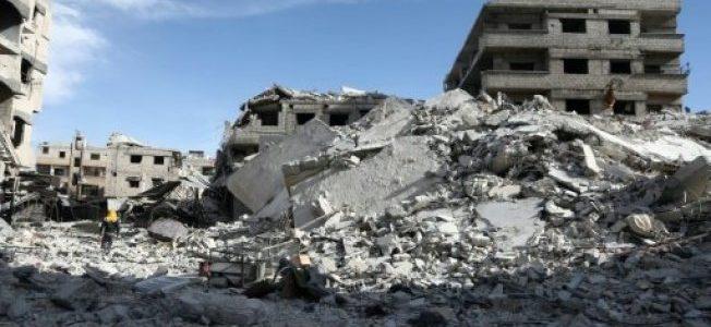 قوات الأسد تسيطر على بلدتي سقبا وكفر بطنا في الغوطة الشرقية