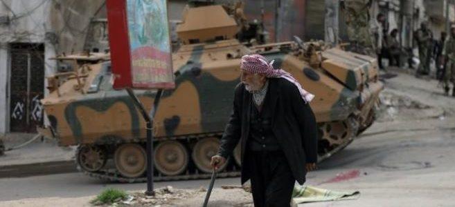 بعد الغزو التركي لعفرين عمليات إطلاق نار وسرقة
