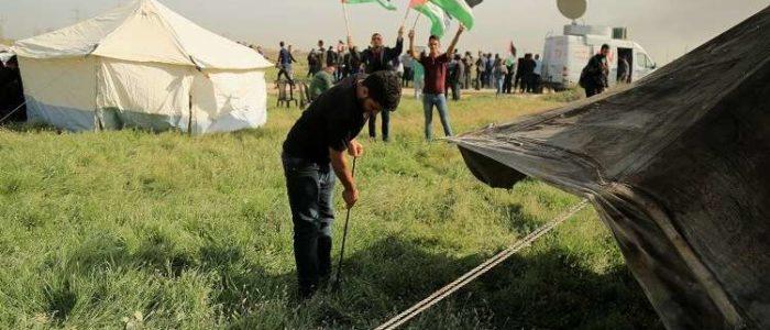 قوات الحكومة السورية تضيق الخناق على مخيم فلسطيني