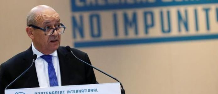 فرنسا تحث الاتحاد الأوروبي علي فرض عقوبات علي إيران وانقاذ الاتفاق النووي