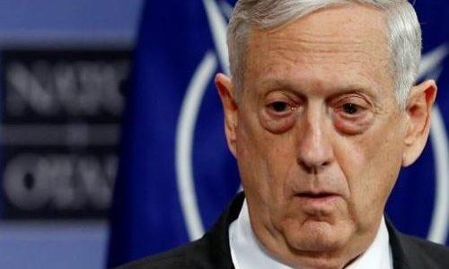 ماتيس: حذرنا الأسد وسنرى إن كان سيعود إلى رشده