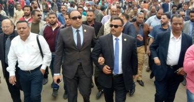 نائبا دار السلام يقودان مسيرة حاشدة فى عزبة خير الله لدعم السيسي