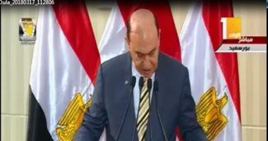 مميش: ميناء شرق بورسعيد إضافة كبيرة إلى قدرات مصر البحرية