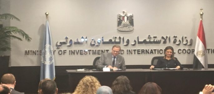 توقيع اتفاق للشراكة بين مصر والأمم المتحدة