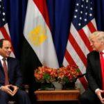 ترامب يتصل بالسيسي لمناقشة الوضع الإقليمي