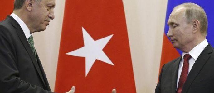 بوتين وأردوغان يتفقان على تنسيق ثنائي للحفاظ على الاستقرار في إدلب