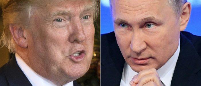 ترامب يتراجع عن موقفه بشأن التدخل لاروسي في الإنتخابات ويعلن اثارة الأمر مع بوتين