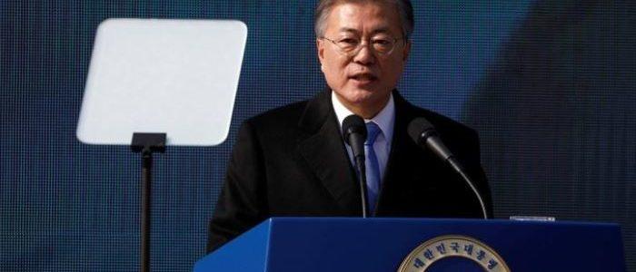 """رئيس كوريا الجنوبية يدعو لمزيد من المحادثات """"العفوية"""" مع الشمال"""