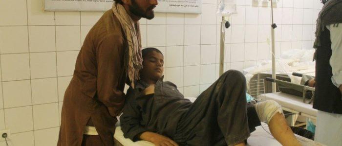 16 قتيلا و38 جريحا في انفجار شاحنة صغيرة في قندهار في افغانستان