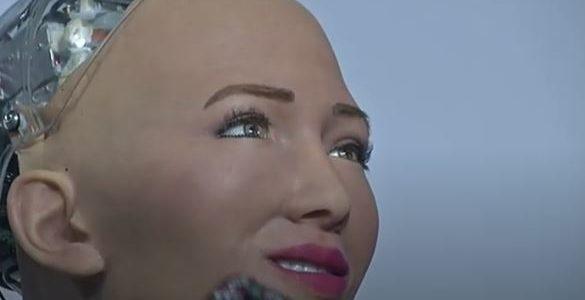 الروبوت صوفيا من القاهرة: من فضلكم لا تطيحوا بي