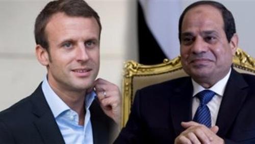 السيسي وماكرون يدعمان تسوية الأزمة السورية سياسياً