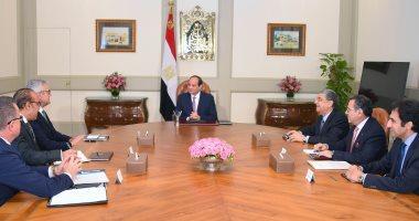السيسي لشركة ABB: مهتمون بتحول مصر  لمركز إقليمي للطاقة