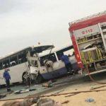 مقتل 15 شخصا جراء تصادم حافلتين بالكويت