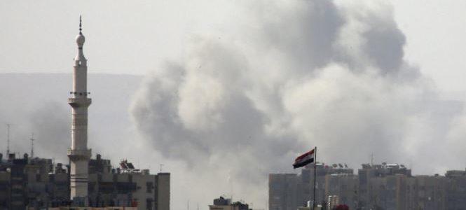 مسلحون في جيب جنوبي دمشق يوافقون على الانسحاب
