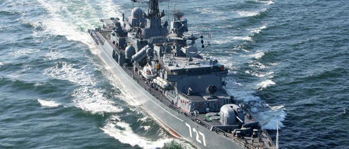 مجموعة من أسطول بحر البلطيق تتجه إلى البحر المتوسط