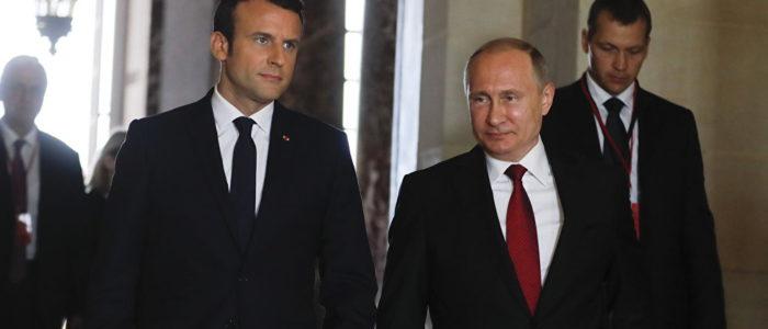 """بوتين وماكرون يؤكدان أهمية الحفاظ على خطة العمل المشتركة حول """"النووي الإيراني"""""""