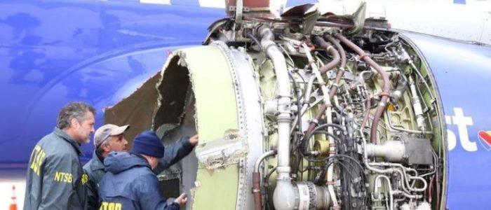 أمريكا تأمر بفحص محركات طائرات بعد انفجار رحلة ساوث وست