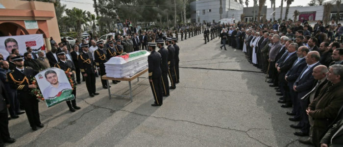 وصول جثمان العالم الفلسطيني البطش الذي اغتيل في كوالالمبور الى غزة
