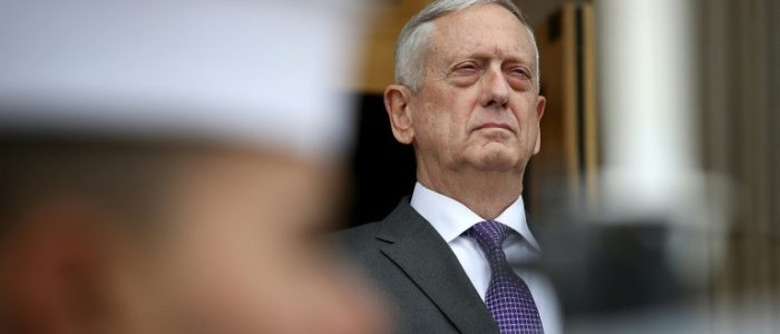 ماتيس: فرنسا ارسلت جنودا الى سوريا لتعزيز القوات الأمريكية