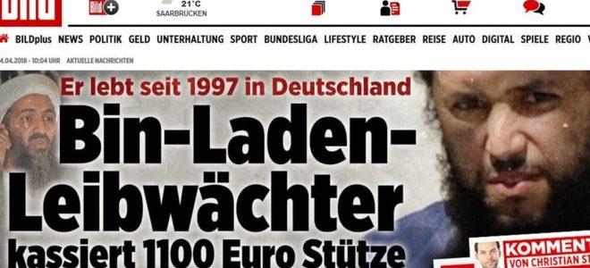 حارس بن لادن يعيش في ألمانيا ويتقاضى راتبا اجتماعيا