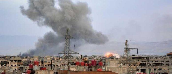 الأسد يشن غارات مكثفة لسحق اخر جيوب المعارضة في دمشق