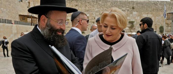 رئيسة وزراء رومانيا تقر بعدم وجود دعم كاف لنقل سفارة بلادها إلى القدس