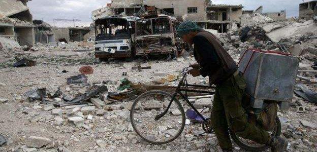 العثور على عربات نقل صناعة بريطانية مخصصة للإرهابيين قرب الحدود السورية الأردنية